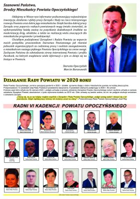 Informator Powiatu Opoczyńskiego 1/2021 strona 2