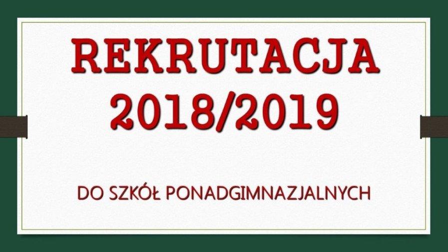 Rekrutacja uczniów w Powiecie Opoczyńskim