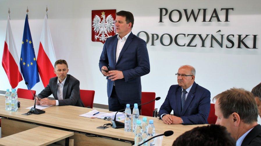 Wsparcie na budowę dróg w Powiecie Opoczyńskim