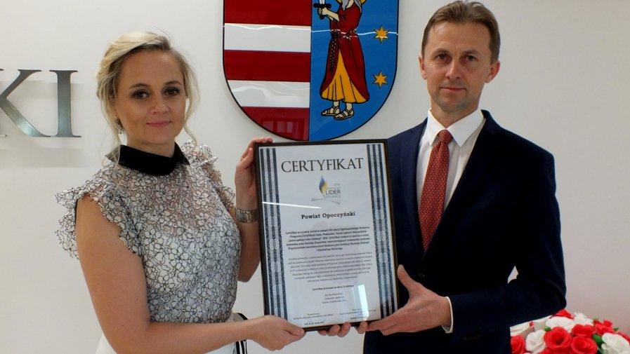 Powiat Opoczyński Samorządowym Liderem Edukacji