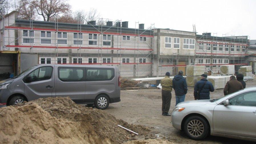 Postęp prac inwestycyjnych w Mroczkowie Gościnnym