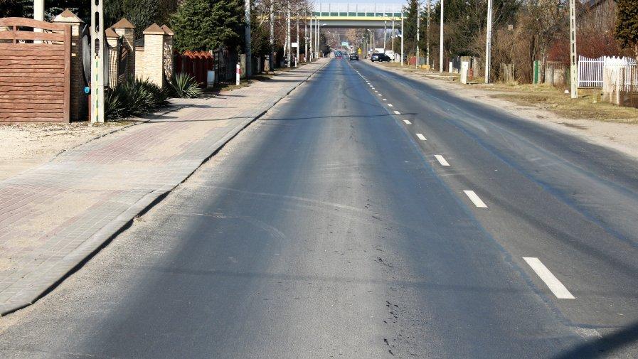 Przebudowa drogi Opoczno - Żarnów