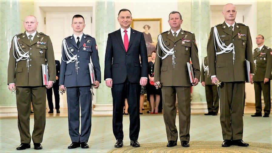 Dowódca 25 BKPow z nominacją generalską