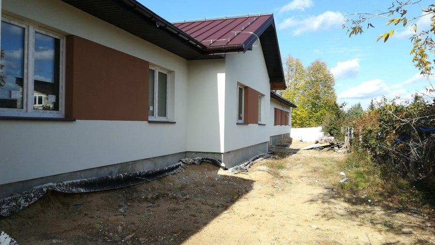 Postęp prac budowlanych w DPS Drzewica