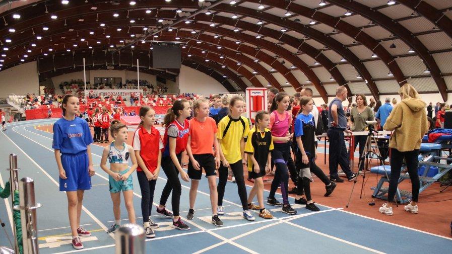 Zawody lekkoatletyczne w Spale 2020
