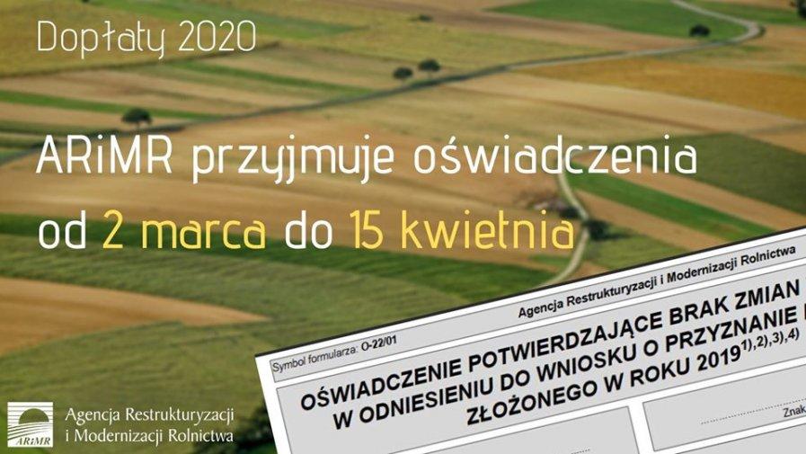 Rolnicy prowadzący małe gospodarstwa również w tym roku będą mogli złożyć zamiast e-wniosku o płatności bezpośrednie i obszarowe z PROW 2014-2020 papierowe oświadczenie potwierdzające brak zmian w stosunku do wniosku z roku poprzedniego.