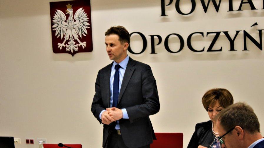 Na zaproszenie Starosty Opoczyńskiego Marcina Baranowskiego odpowiedzieli burmistrzowie i wójtowie gmin naszego Powiatu.