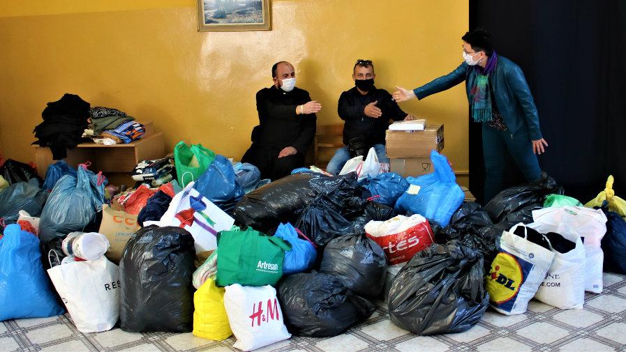 Pomoc dla Domu Pomocy Społecznej w Drzewicy płynie nie tylko od darczyńców z terenu Powiatu Opoczyńskiego. W akcję, spontanicznie włączyły się organizację kościelne z Żyrardowa.