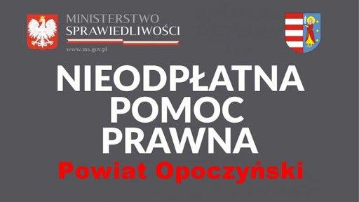 KOMUNIKAT W SPRAWIE NIEODPŁATNEJ POMOCY PRAWNEJ Ze względu na aktualną sytuację wprowadzonego na obszarze Rzeczypospolitej Polskiej stanu epidemii związanego z zakażeniami wirusem SARS-CoV-2 informuję, iż konieczne jest ponowne przedłużenie, na...