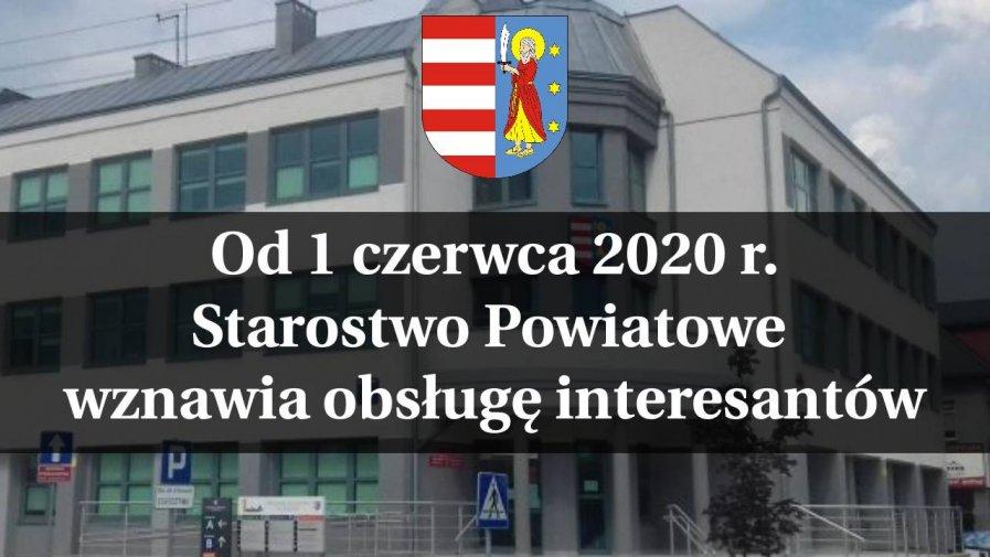 Informacja  Starosty  Opoczyńskiego