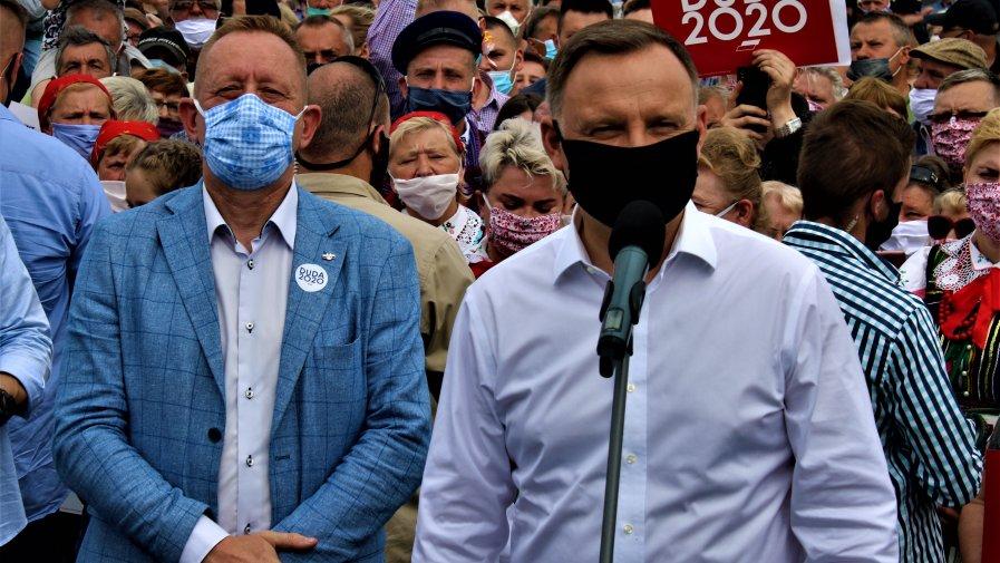 Andrzej Duda wygrywa w Powiecie Opoczyńskim