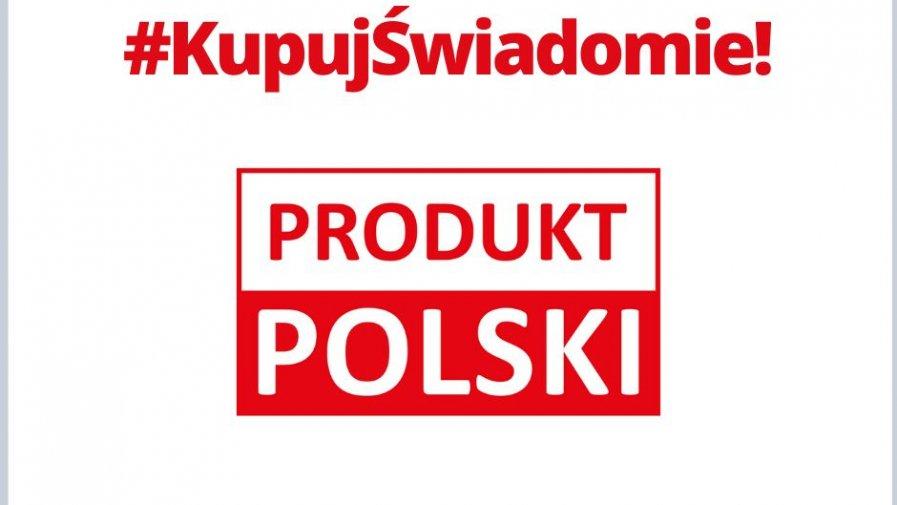 Pamiętaj, że kupując polskie produkty, masz wpływ na wzrost sprzedaży krajowych produktów i zachęcasz producentów do umieszczania na artykułach żywnościowych znaku Produkt Polski.