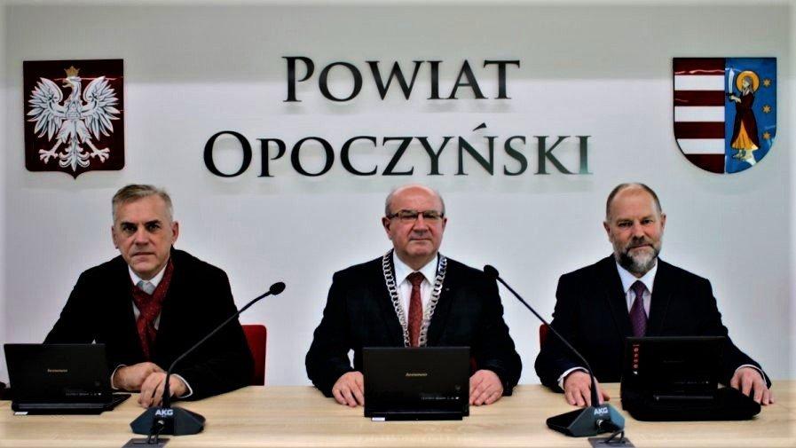 XXVI Sesja Rady Powiatu Opoczyńskiego
