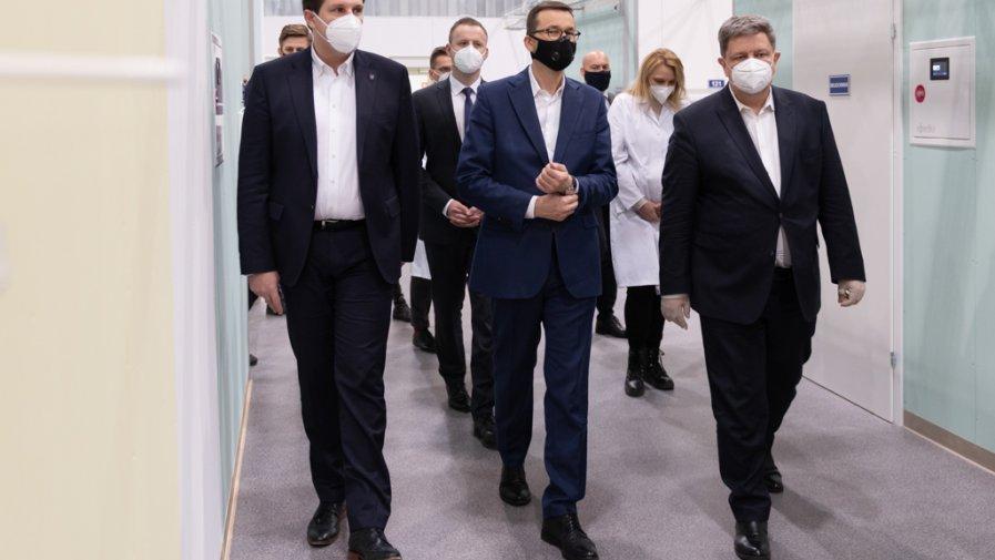 Premier Morawiecki o szczepionkach na Covid