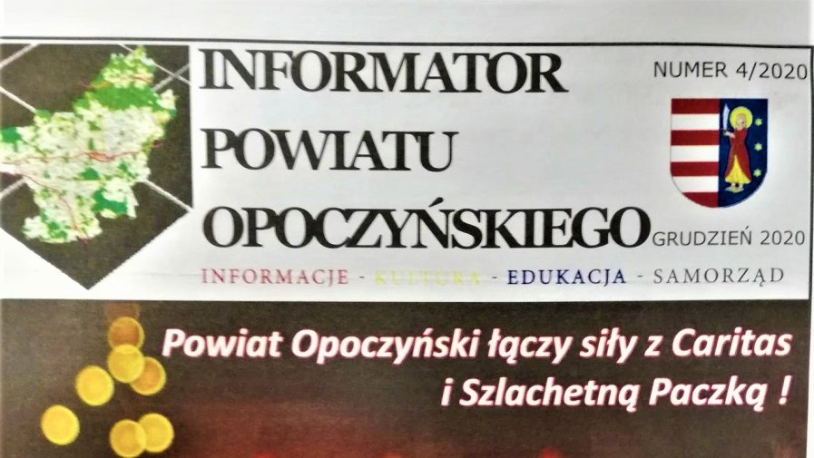 Nowy numer Informatora Powiatu Opoczyńskiego