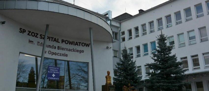 3,8 mln zł  dla SP ZOZ Szpitala Powiatowego w Opocznie