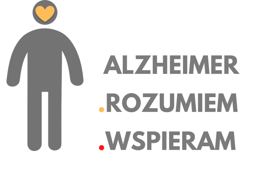 LOGO Alzheimer - rozumiem - wspieram