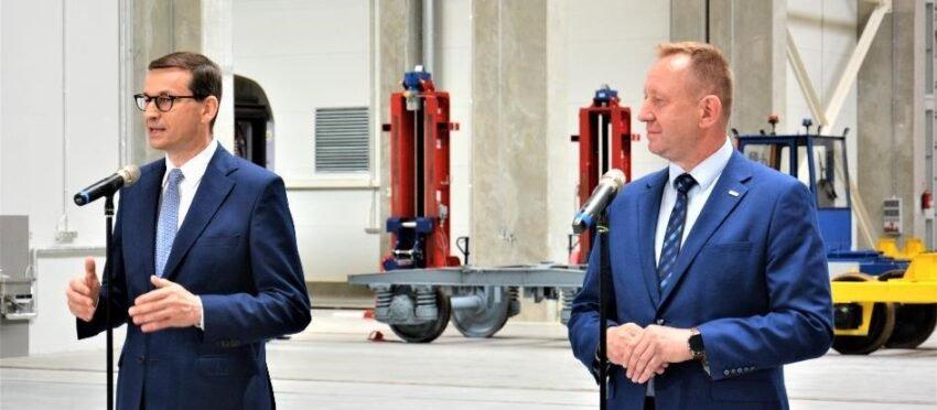 Mateusz Morawicki, Prezes Rady Ministrów odwiedził jednego z największych pracodawców regionu Opoczyńskiego.