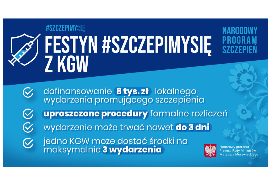 Festyn #Szczepimysię z KGW
